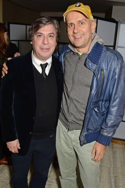 George Condo and Marc Quinn