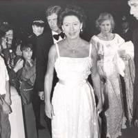 1981: At a Bob Hope gala dinner