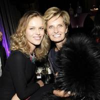 Eva Herzigova and Sabina Belli