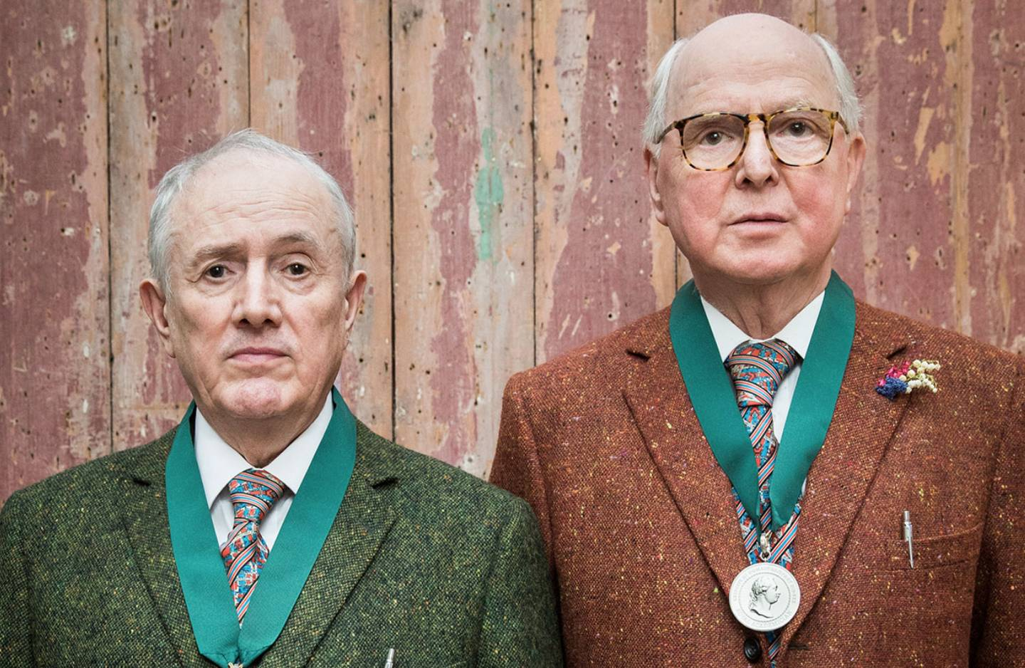 Tea with Tatler: Jasper Greig meets Gilbert and George at their home and studio in Fournier Street