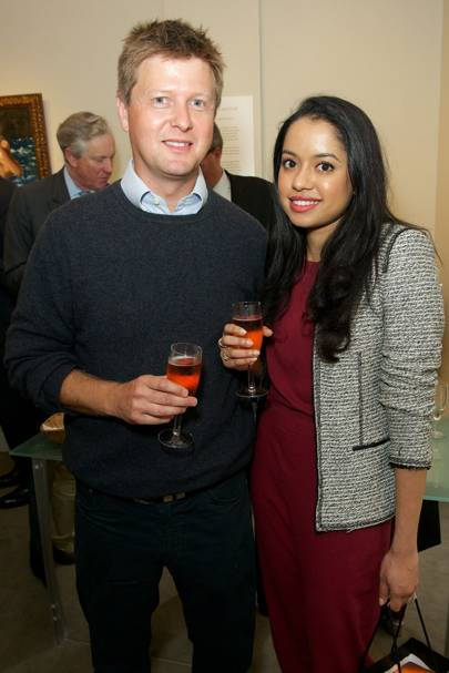 Christian Moxon and Ahalya Alvares