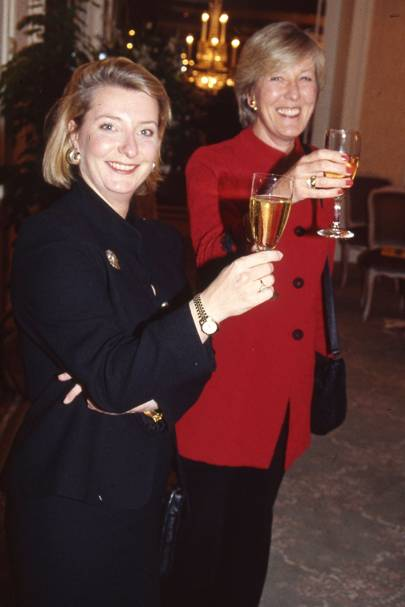 Caroline Hastie and Diana Collins