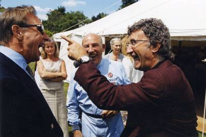 Paddy McNally, Stirling Moss and Eddie Jordan