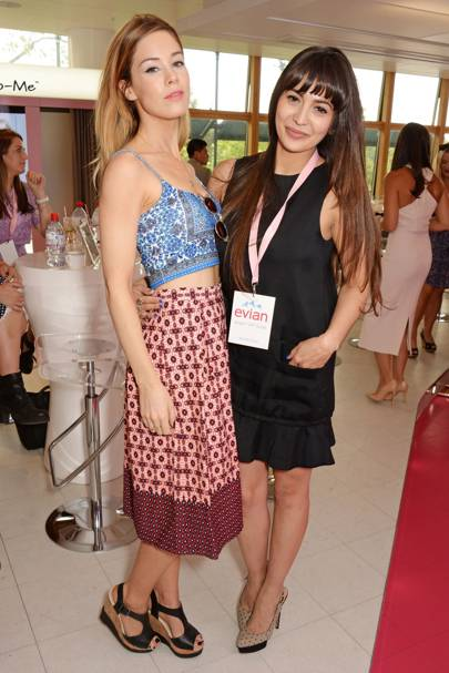 Roxanne McKee and Zara Martin