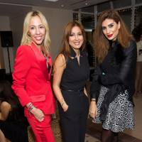 Amelie Adamo, Carole Salamoon and Reem Moukarzel El-Khazen