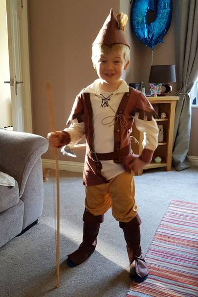 Harry Stanley as Robin Hood