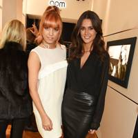 Amber Le Bon and Kim Johnson