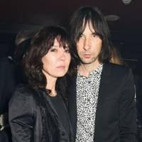 Katy England and Bobby Gillespie