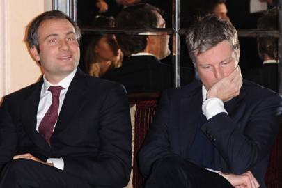Ben Goldsmith and Zac Goldsmith