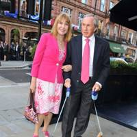 Lady Helen Stewart, Sir Jackie Stewart, Pimms and Whisky