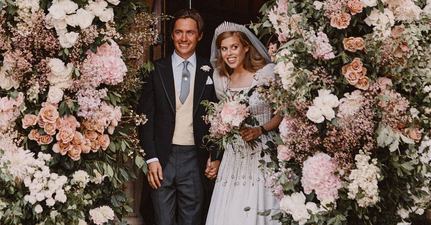 New unseen picture from Princess Beatrice and Edoardo Mapelli Mozzi's wedding