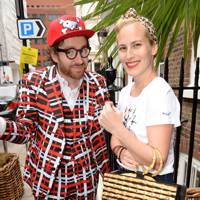 Charlotte Dellal and Philip Colbert