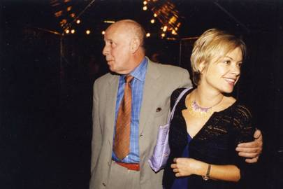 Richard Wilson and Mariella Frostrup