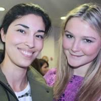 Caroline Issa and Amber Atherton