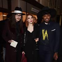 Joshua Kane, Francesca Merricks and Prince Cassius