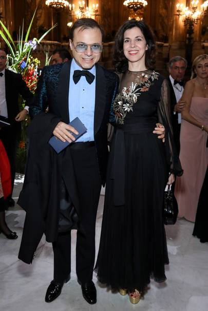 Bertrand Burgalat and Vanessa Seward