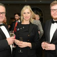 Charlie Higson, Lauren Child and Miles Jupp