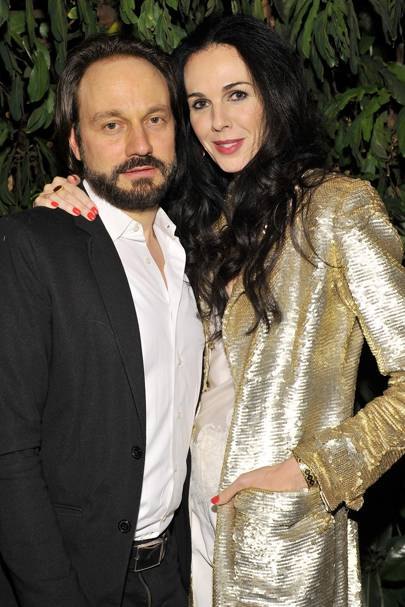 Mario Eimuth and L'Wren Scott