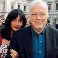 Mr and Mrs David Gilmour