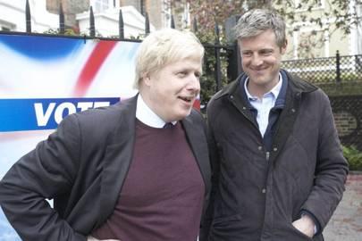 Boris is his BFF