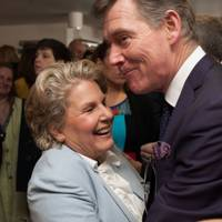 Sandi Toksvig and Anthony Andrews