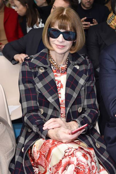 Anna Wintour at Gucci A/W18