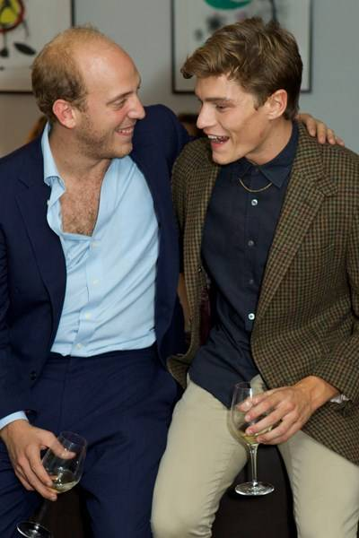 Carlo Carello and Oliver Cheshire