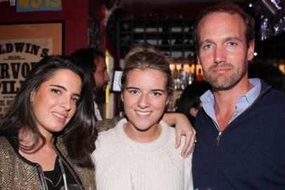 Leah Benrimoj, Carina Giordano and Daniel Walker