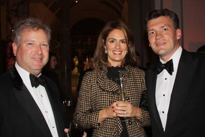 William Asprey, Amanda Hall and Simon Hall