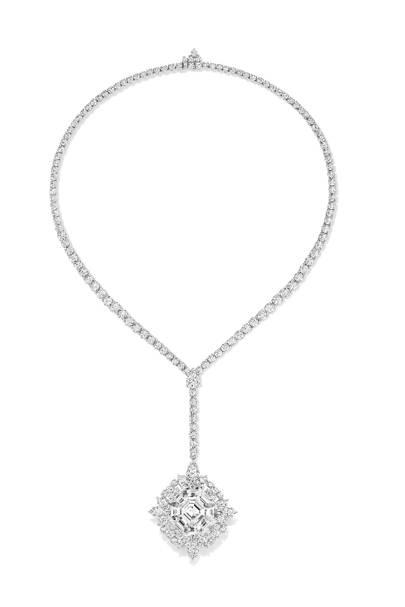 Diamond necklace, POA, Harry Winston