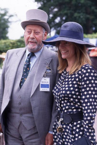 Sir Clement Freud and Nicola Freud