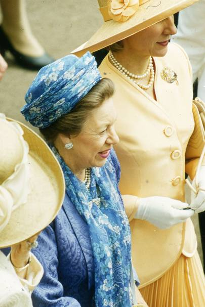 Princess Margaret and the Duchess of Gloucester