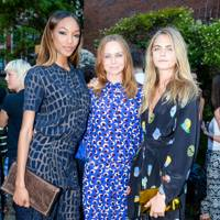 Cara Delevingne, Stella McCartney and Joan Smalls
