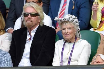 Sir Richard Branson and Eve Branson