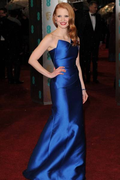 The Jessica Rabbit Prize for Most Fabulous: Jessica Chastain