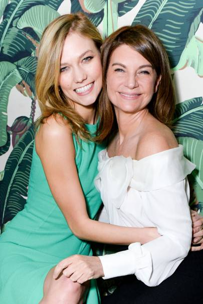 Karlie Kloss and Natalie Massenet