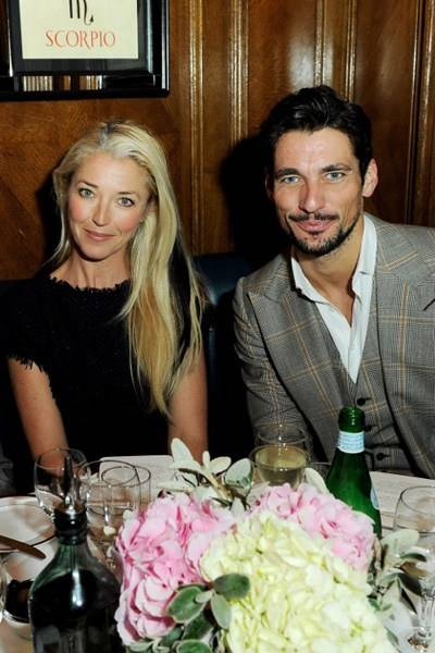 Tamara Beckwith and David Gandy