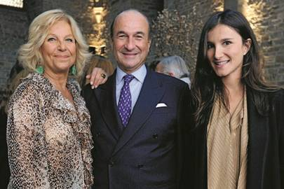 Maria Franco, Michele Norsa and Ilaria Norsa