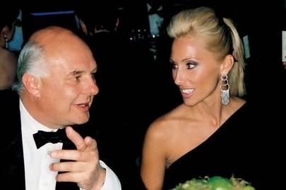 Rolf Sachs and Princess Alexandra von Furstenberg