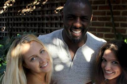 Laura Lewis, Idris Elba and Sophie Miranda