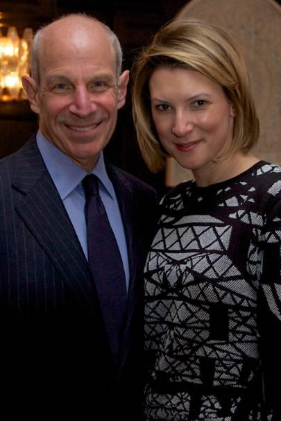 Jonathan Tisch and Lizzie Tisch