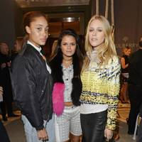 Adwoa Aboah, Bip Ling and Mary Charteris