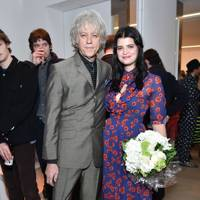 Bob Geldof and Pixie Geldof