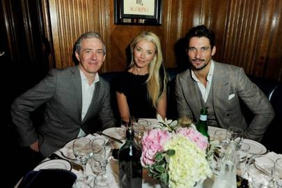 Bill Prince, Tamara Beckwith and David Gandy