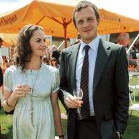 Ruth Wilson and Adrian Goodsell