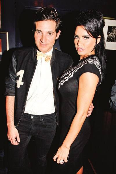 Richard Dennen and Katie Price