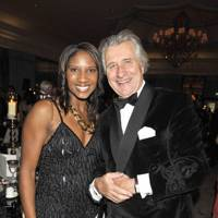 Denise Lewis and Arnaud Bamberger