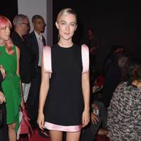 Saoirse Ronan at the Calvin Klein Collection show