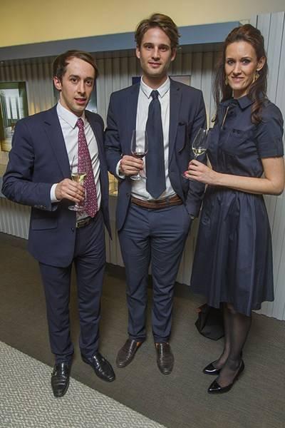 Simon Garcia, Joaquin Lassala and Penny Mosgrove
