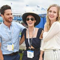 Tom Riley, Lizzy Caplan and Portia Freeman
